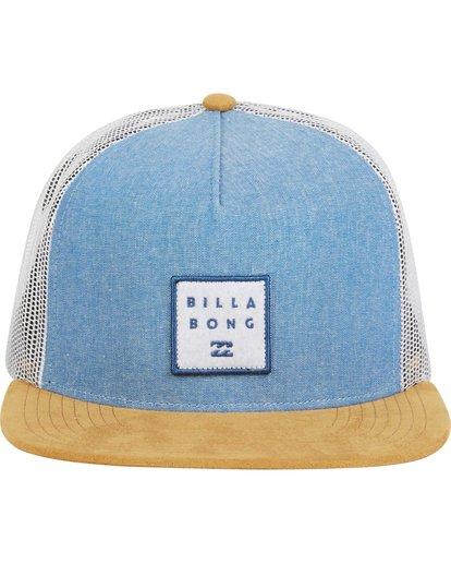 1 Stacked Trucker Hat Blue MAHWNBST Billabong