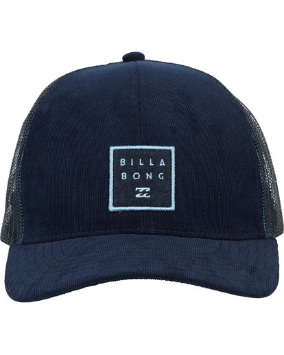 1 Walled Trucker Hat Blue MAHWNBWA Billabong