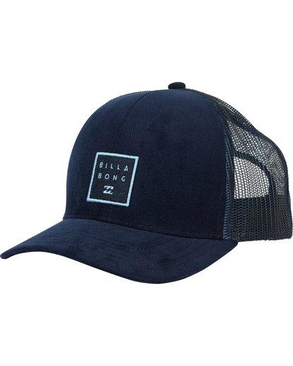 0 Walled Trucker Hat Blue MAHWNBWA Billabong