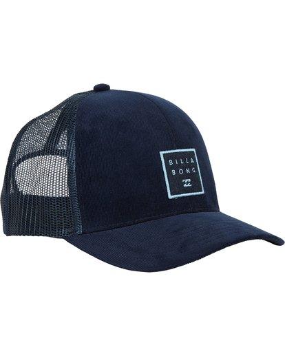 2 Walled Trucker Hat Blue MAHWNBWA Billabong
