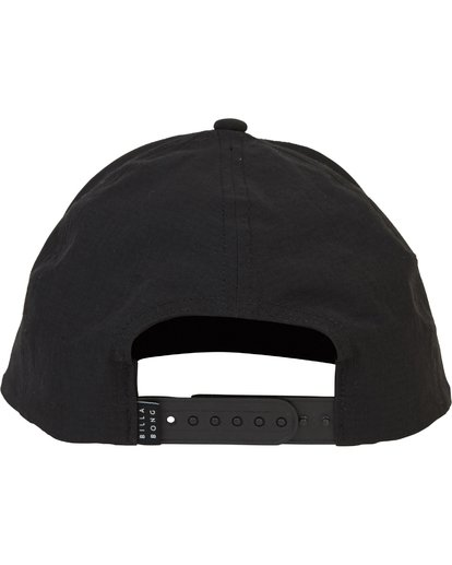 3 Surftrek Snapback Hat Black MAHWPBAS Billabong