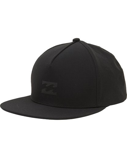 0 Surftrek Snapback Hat Black MAHWPBAS Billabong