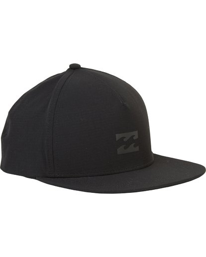 2 Surftrek Snapback Hat Black MAHWPBAS Billabong