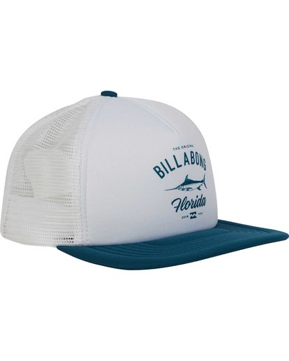 2 Florida Trucker Hat  MAHWPBFL Billabong