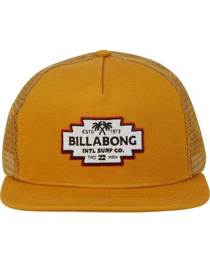 1 Flatwall Trucker Hat  MAHWPBFW Billabong