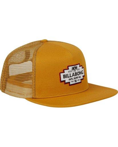 2 Flatwall Trucker Hat  MAHWPBFW Billabong