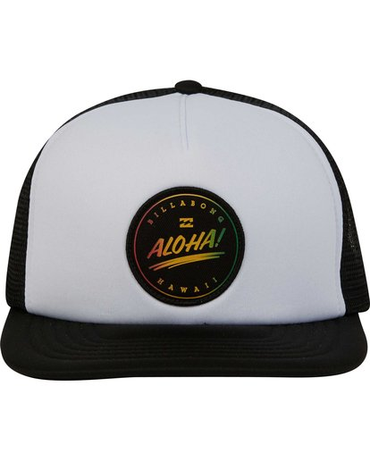 1 Aloha Trucker Hat  MAHWPBHA Billabong