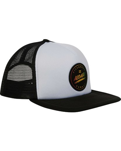 2 Aloha Trucker Hat  MAHWPBHA Billabong