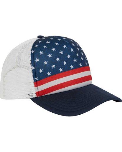 2 Range Trucker Hat  MAHWPBRA Billabong