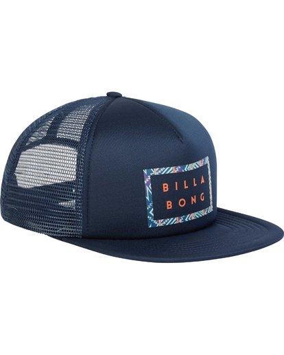 2 Upgrade Trucker Hat Blue MAHWPBUP Billabong