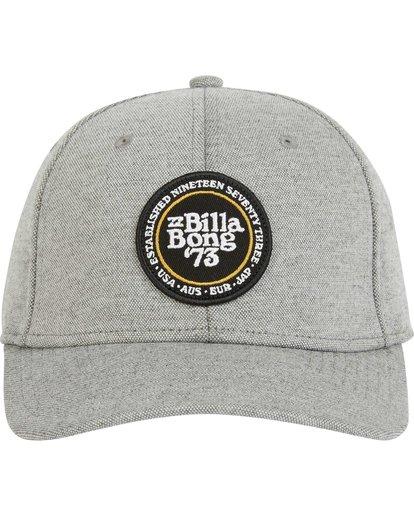 1 Walled Stretch Hat Grey MAHWPBWD Billabong