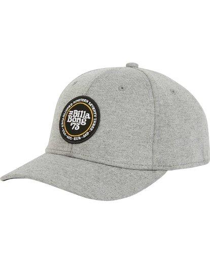 0 Walled Stretch Hat Grey MAHWPBWD Billabong