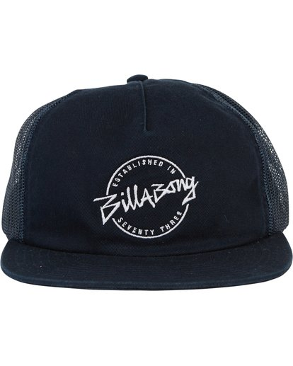 1 Breakdown Trucker Hat Blue MAHWQBBR Billabong