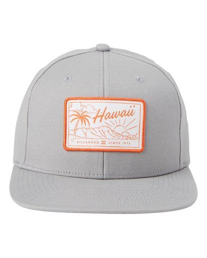 1 Paradise Snapback Hat Grey MAHWQBPR Billabong