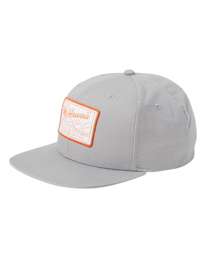 0 Paradise Snapback Hat Grey MAHWQBPR Billabong