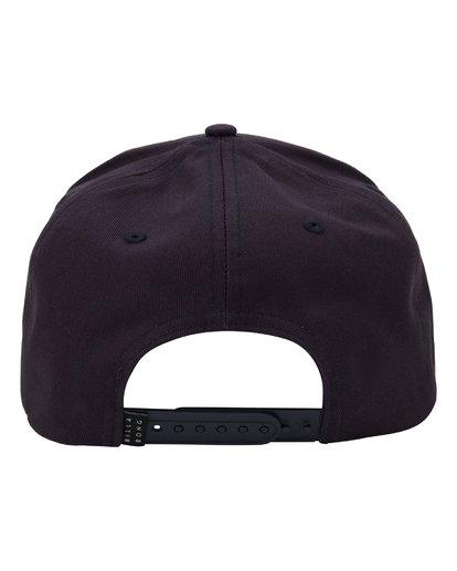 2 Paradise Snapback Hat Blue MAHWQBPR Billabong