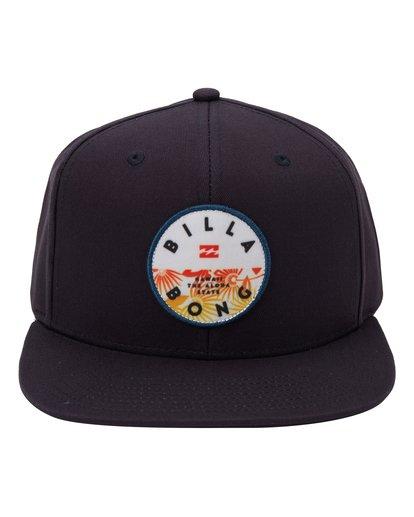 1 Paradise Snapback Hat Blue MAHWQBPR Billabong