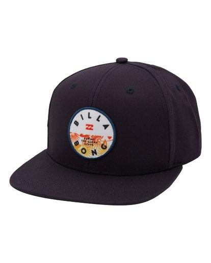 0 Paradise Snapback Hat Blue MAHWQBPR Billabong