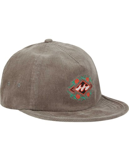 2 Re-Issue Cord Hat  MAHWQBRC Billabong