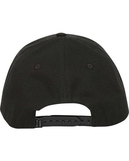 3 Walled Snapback Hat Black MAHWQBWS Billabong