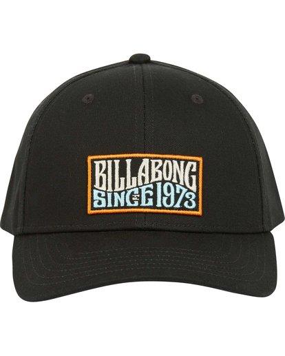 1 Walled Snapback Hat Black MAHWQBWS Billabong