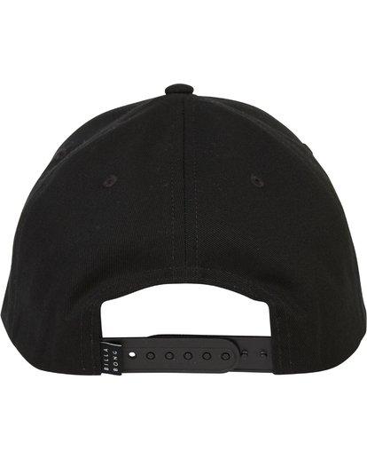 3 Walled Snapback Hat Grey MAHWQBWS Billabong