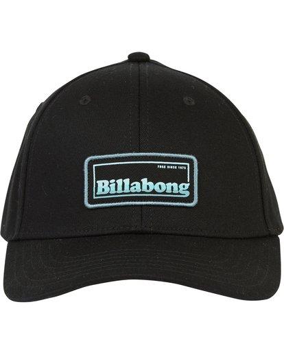 1 Walled Snapback Hat Grey MAHWQBWS Billabong