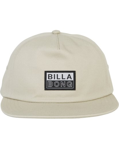 1 Boneless Corduroy Snap Back Hat Green MAHWSBBO Billabong