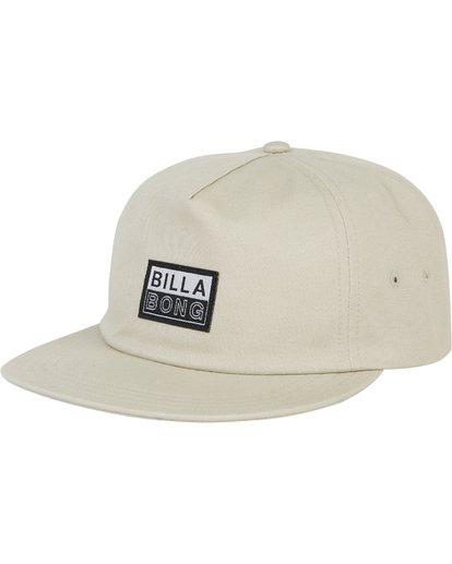 0 Boneless Corduroy Snap Back Hat Green MAHWSBBO Billabong
