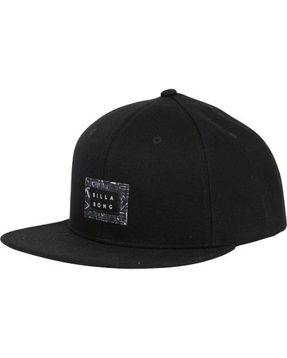 0 Plateau Twill Snap Back Hat  MAHWSBPL Billabong