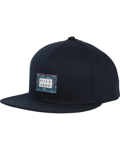 0 Plateau Twill Snap Back Hat Blue MAHWSBPL Billabong