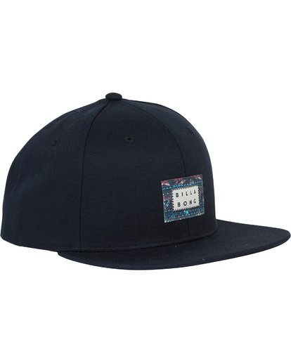 2 Plateau Twill Snap Back Hat Blue MAHWSBPL Billabong