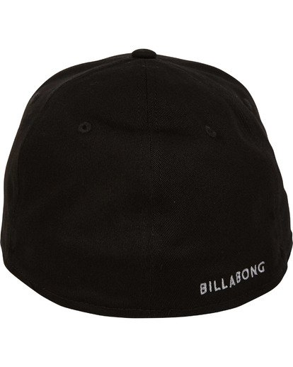3 All Day Stretch Hat Black MAHWTBAD Billabong