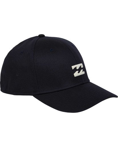 2 All Day Stretch Hat Blue MAHWTBAD Billabong