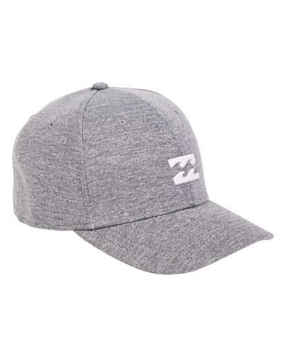 2 All Day Stretch Hat Grey MAHWTBAD Billabong