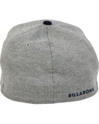 3 All Day Stretch Hat Grey MAHWTBAD Billabong