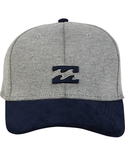1 All Day Stretch Hat Grey MAHWTBAD Billabong
