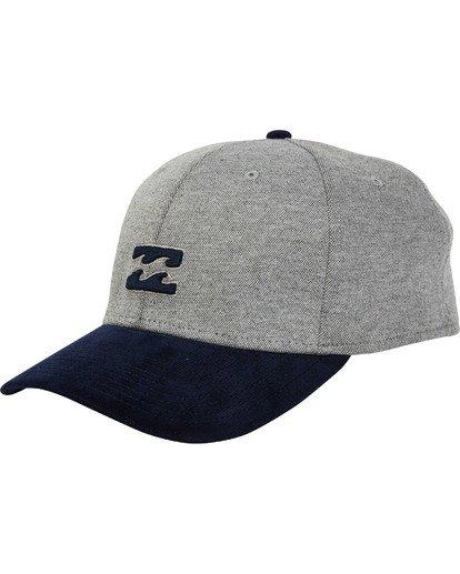 0 All Day Stretch Hat Grey MAHWTBAD Billabong
