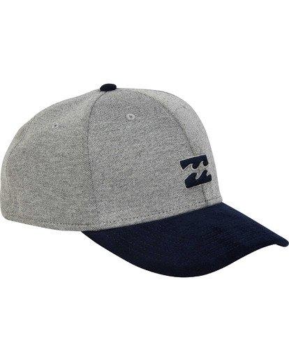2 All Day Stretch Hat Grey MAHWTBAD Billabong