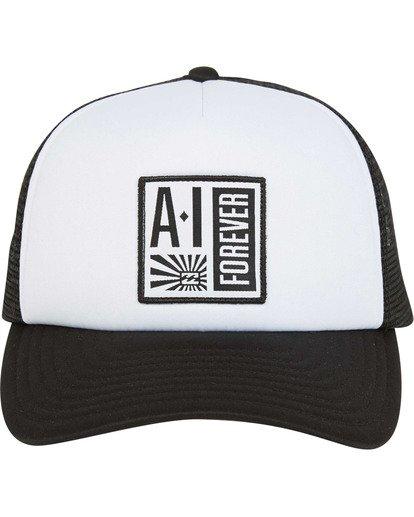 1 Stamp Trucker Hat Black MAHWTBAF Billabong