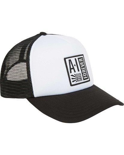 2 Stamp Trucker Hat Black MAHWTBAF Billabong