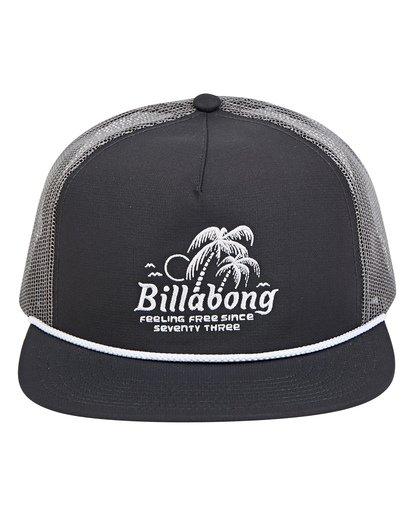 1 Alliance Trucker Hat Grey MAHWTBAL Billabong
