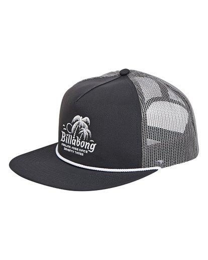 0 Alliance Trucker Hat Grey MAHWTBAL Billabong