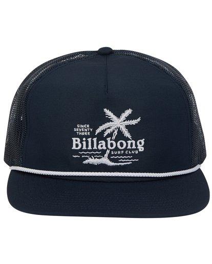 1 Alliance Trucker Hat Blue MAHWTBAL Billabong