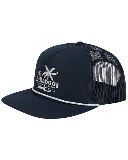 0 Alliance Trucker Hat Blue MAHWTBAL Billabong