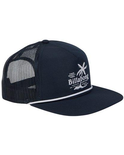 2 Alliance Trucker Hat Blue MAHWTBAL Billabong