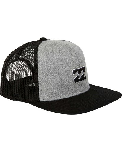2 All Day Trucker Hat Grey MAHWTBAR Billabong