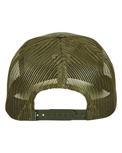3 All Day Trucker Hat Green MAHWTBAR Billabong