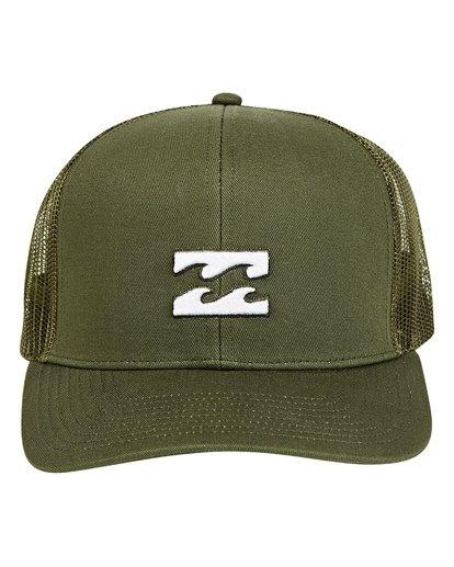 1 All Day Trucker Hat Green MAHWTBAR Billabong