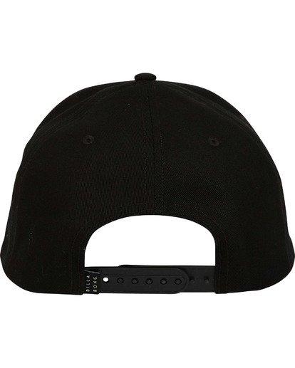 3 All Day Snapback Hat Black MAHWTBAS Billabong